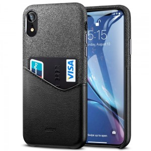 Etui do iPhone XR ESR Metro [czarno-szare]