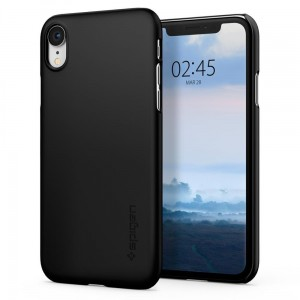 Etui do iPhone XR Spigen  Thin  Fit [czarne]