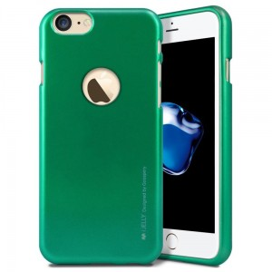 "Mercury/Goospery iJELLY Metal Case [zielone], Etui na iPhone 7/8 (4.7"")"