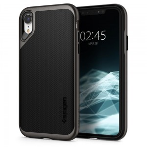 Etui do iPhone XR Spigen Neo Hybrid [ciemno szare]
