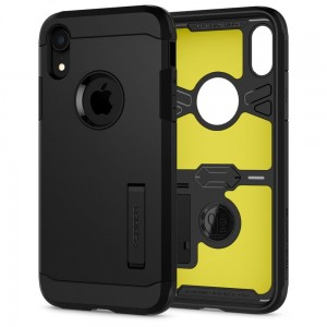 "Etui do iPhone XR  Spigen Tough Armor ""XP""[czarne]"