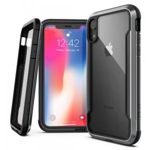 Etui do iPhone XR  X-Doria Defense Shield [czarne]