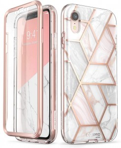 Etui do iPhone XR Supcase Cosmo Marble