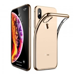 "Etui do iPhone XS MAX (6.5"") Esr Essential [złota ramka]"