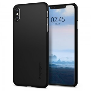"Etui do iPhone XS MAX (6.5"") Spigen Thin Fit [czarne]"