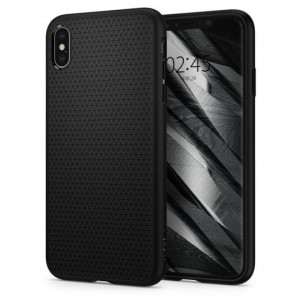 "Etui do iPhone XS MAX (6.5"") Spigen Liquid Air [ czarne, matowe]"
