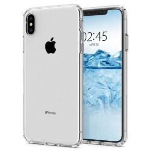 "Etui do iPhone XS MAX (6.5"") Spigen  Liquid Crystal [bezbarwne]"