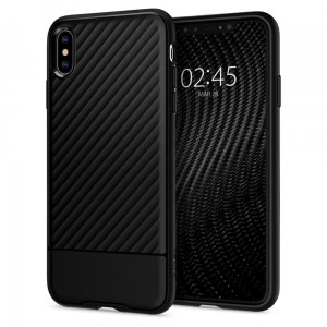 "Etui do iPhone XS MAX (6.5"") Spigen Core Armor [czarne]"