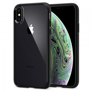 "Etui do iPhone XS MAX (6.5"") Spigen Ultra Hybrid [czarne]"