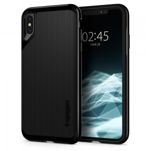 "Etui do iPhone XS MAX (6.5"") Spigen Neo Hybrid [czarne]"
