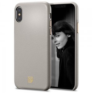 "Etui do iPhone XS MAX (6.5"") Spigen La Manon Calin [beżowe]"