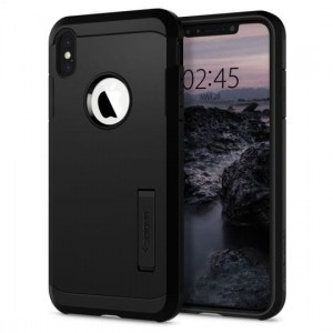 "Etui do iPhone XS MAX (6.5"") Spigen Tough Armor [czarne]"