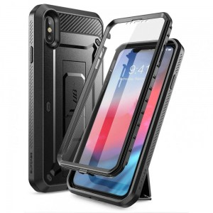 Etui do iPhone XS MAX Supcase Unicorn Beetle Pro [czarne]