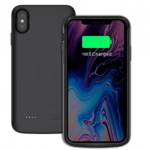 "Etui z baterią do iPhone XS MAX (6.5"") 6000 mAh Tech-Protect [czarne]"