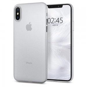 "Etui do iPhone X/XS (5.8"") Spigen AirSkin [matowe]"