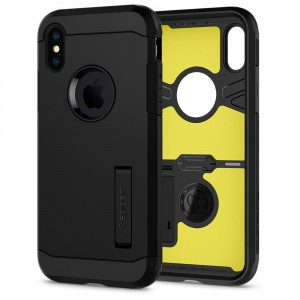 "Etui do iPhone X/XS Spigen Tough Armor ""XP"" ( czarne)"