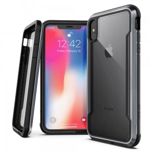 Etui do iPhone X/XS X-Doria Defense Shield  ( czarne)
