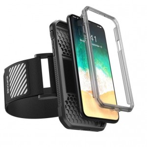Etui do iPhone X/XS Supcase Sport Armband ( czarne)