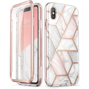 "Etui do iPhone X/XS (5.8"") Supcase Cosmo [marble]"