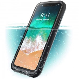 "Etui do iPhone X/XS (5.8"") Supcase IBLSN Aegis IP68 [czarne]"