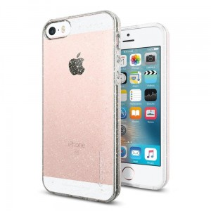SPIGEN LIQUID AIR IPHONE 5S/SE GLITTER CRYSTAL QUARTZ