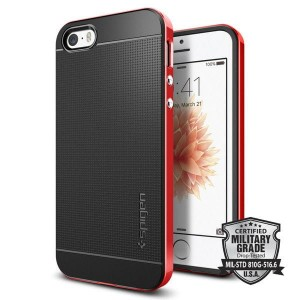 SPIGEN NEO HYBRID IPHONE 5S/SE DANTE RED