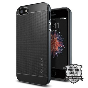 Etui do iPhone SE/5/5S Spigen Neo Hybrid [metalowy]