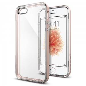 SPIGEN NEO HYBRID CRYSTAL IPHONE 5S/SE ROSE GOLD