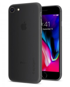 "Etui do iPhone 7/8 (4.7"") Spigen Airskin [czarne]"