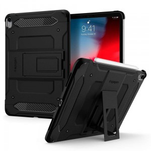"Etui pancerne do iPada Pro 11"" 2018 - Spigen Tough Armor Tech [czarne]"