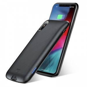 Etui z baterią do iPhone X/XS Baseus Continuous Battery Pack 4000 mAh [czarny]