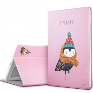 "Etui do iPad 9.7 "" 2017/2018 Esr Illusdesign [ śliczna sowa]"