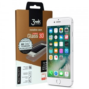 Szkło Hybrydowe 3MK Flexible Glass 3D iPhone 7/8 PLUS