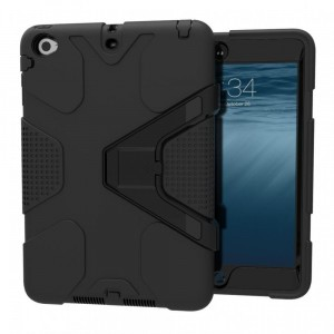 Etui z klapką na iPad mini 1/2/3 Tech-Protect Geometric [czarne]