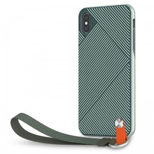 Etui do iPhone XS MAX - Moshi Altra [mint - green]