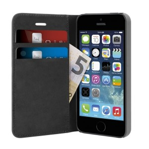 Etui iPhone 5/5S/SE PURO WALLET CASE [czarne]