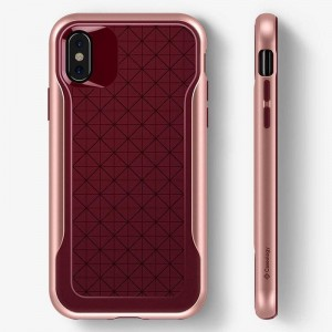 "Etui do iPhone X/XS (5.8"") Caseology Apex Case [bordowy]"