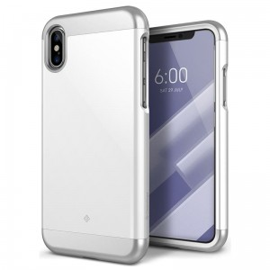"Etui do iPhone X/XS (5.8"") Caseology Savoy Case [biały]"