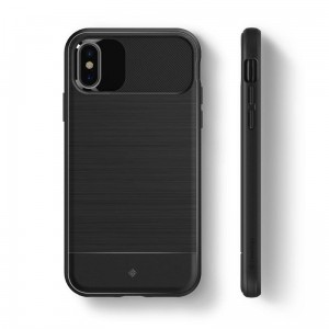 "Etui do iPhone X/XS (5.8"") Caseology Vault Case [czarny]"