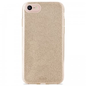 Etui do iPhone 6/6S/7/8/SE 2020 Puro Glitter Shine Cover [złoty]