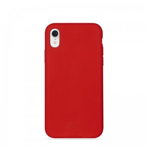 Etui do iPhone XR Puro Icon Cover [czerwony]