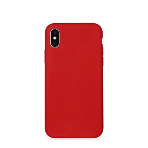 "Etui do iPhone XS MAX (6.5"") Puro Icon Cover [czerwony]"