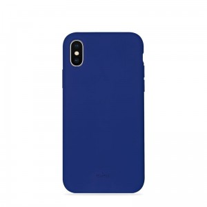 "Etui do iPhone XS MAX (6.5"") Puro Icon Cover [granatowy]"