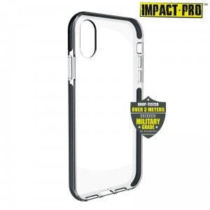 Etui do iPhone XR Puro Impact Pro Hard Shield [czarny]