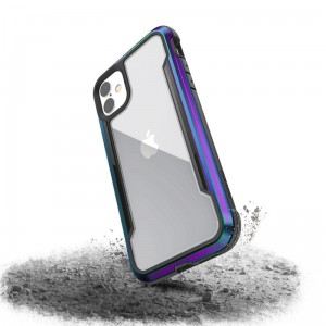 Etui do iPhone 11 X-Doria Defense Shield (etui aluminiowe - test upadku 3M) [opal]