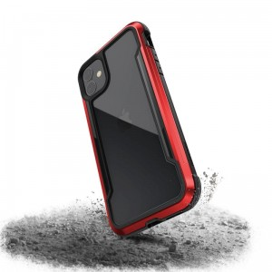 Etui do iPhone 11 X-Doria Defense Shield (etui aluminiowe - test upadku 3M) [czerwony]