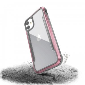 Etui do iPhone 11 X-Doria Defense Shield (etui aluminiowe - test upadku 3M) [różowo złoty]