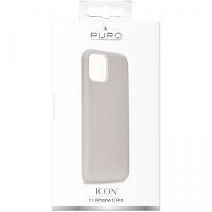 Etui do iPhone 11 Pro Puro Icon Cover [ciemnoszary]