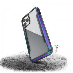 Etui do iPhone 11 Pro X-Doria Defense Shield (etui aluminiowe - test upadku 3M) [opal]
