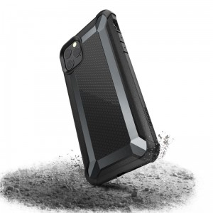 Etui do iPhone 11 Pro Max X-Doria Defense Tactical (etui pancerne - test upadku 3M) [czarny]